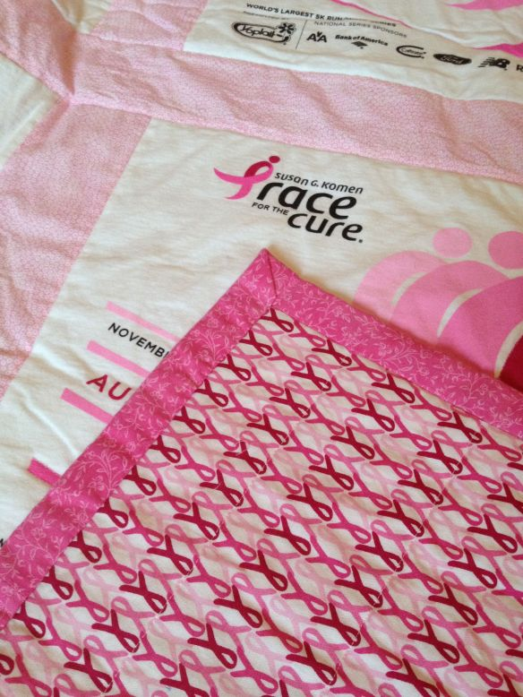 Race for the Cure Quilt Border