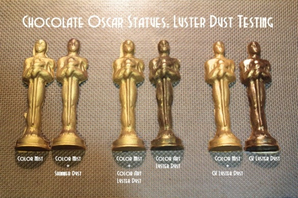 Chocolate Oscar Statues