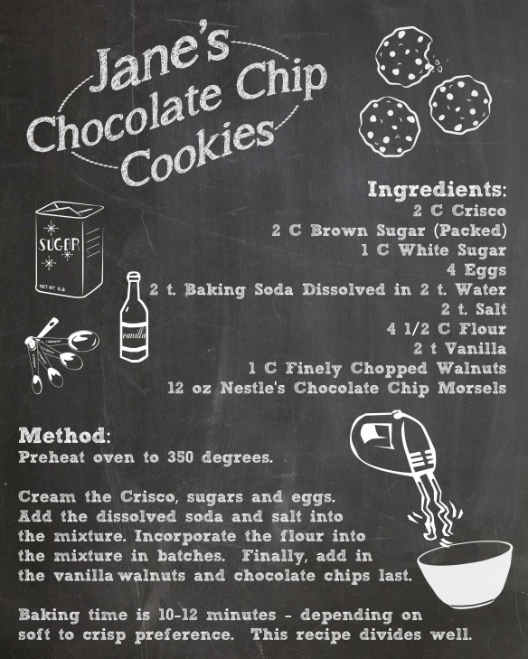 Jane's Chocolate Chip Cookies